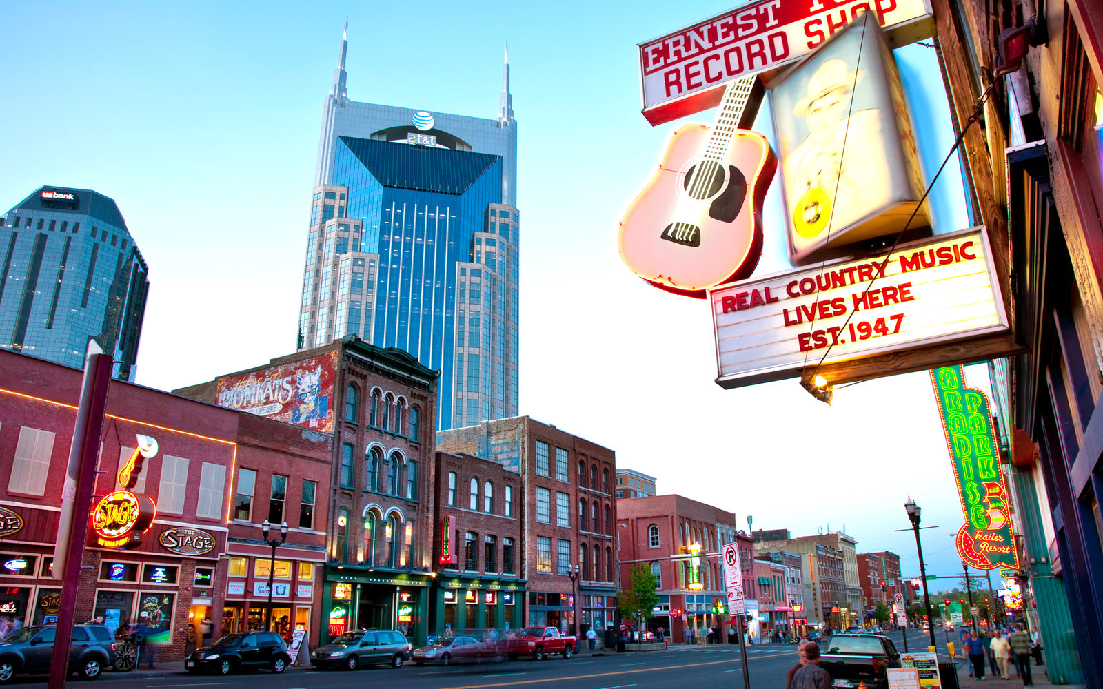 Downtown Nashville - Photo by Travel + Leisure