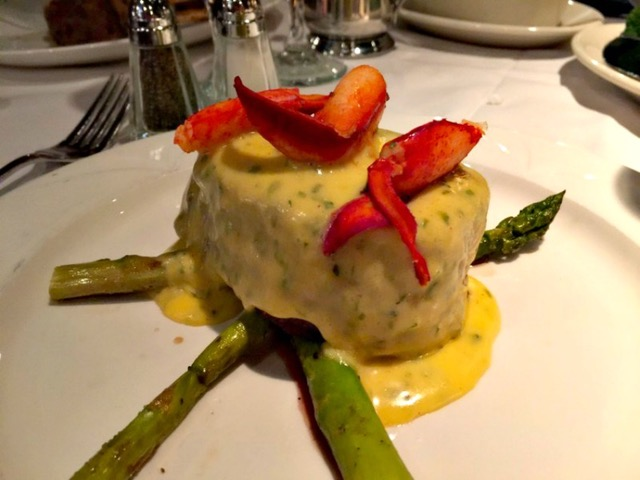 Decadent Filet Mignon with Béarnaise sauce from The Chop House.    Photo by Melody Pittman.