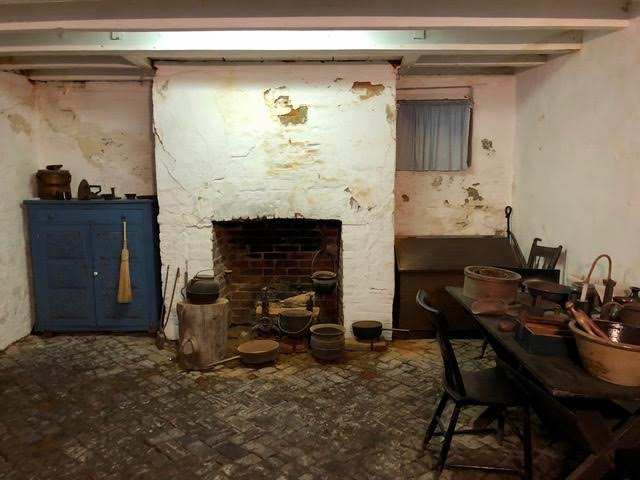 A room at the Levin & Catharine Coffin House that was used to house runaway many slaves. Photo by Melody Pittman.