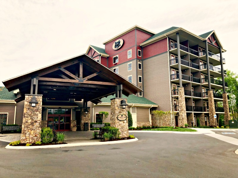 The Black Fox Lodge is Pigeon Forge's newest hotel and of the Tapestry Collection by Hilton.