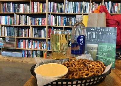 Books & Brews is a fantastic place to work, socialize, enjoy family time, or just sip a cold beer in a fun environment.