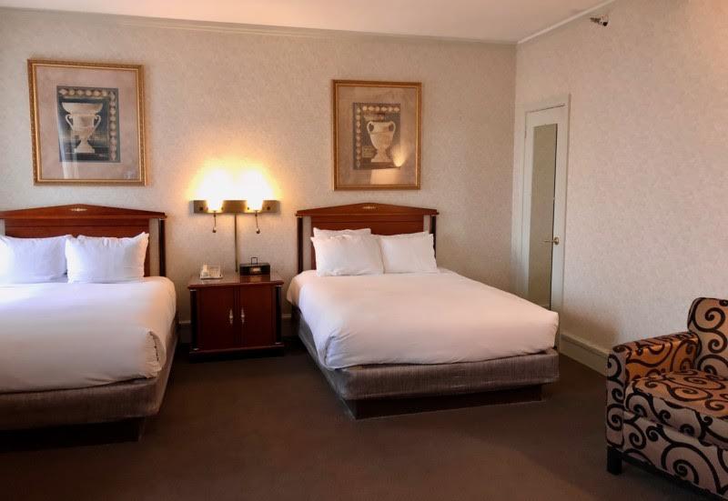 Room at the Hilton Cincinnati Netherland Plaza, the city of Cincinnati's crown jewel.