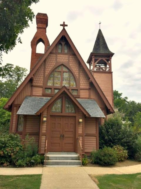 The Victorian Christ Church in Stevensville is still used as a house of worship