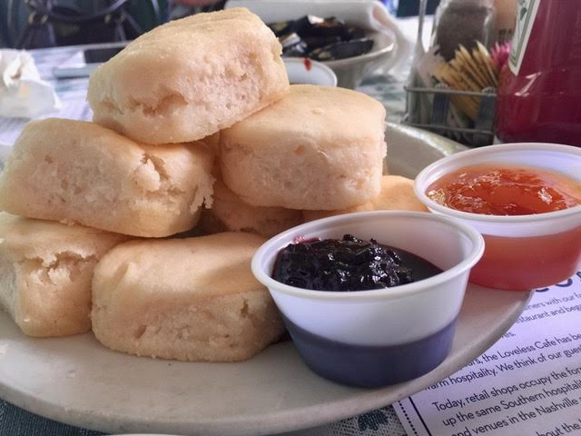 Though 20-25 minutes from downtown, the Loveless Cafe is one of the icons of Nashville and the biscuits alone are worth the drive